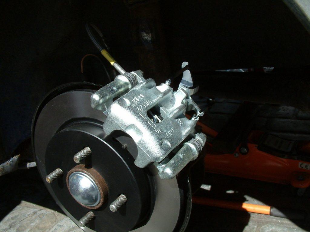 Rear Brake Servicing