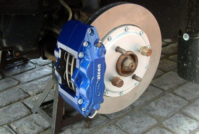 Alcon Caliper Servicing